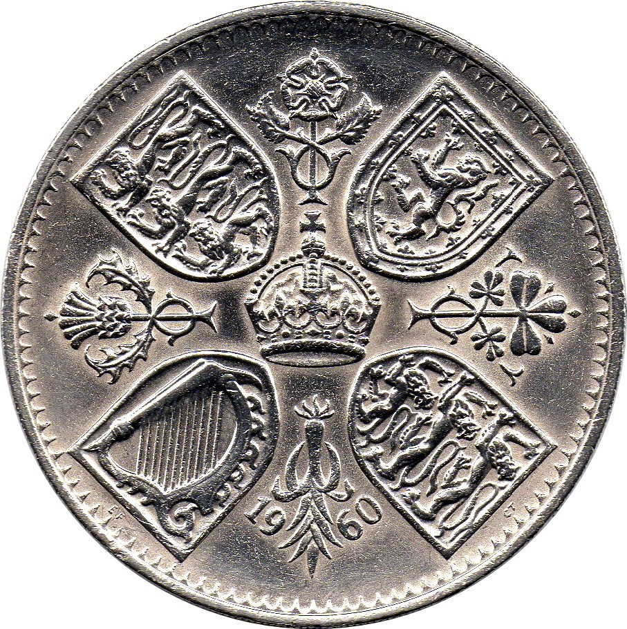 British 1 Crown (New York Exhibition 1960)
