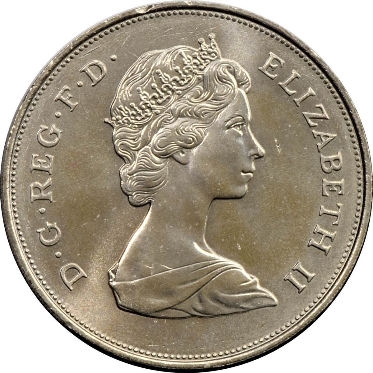 British 1 Crown (Queen Mother 80th Birthday 1980)