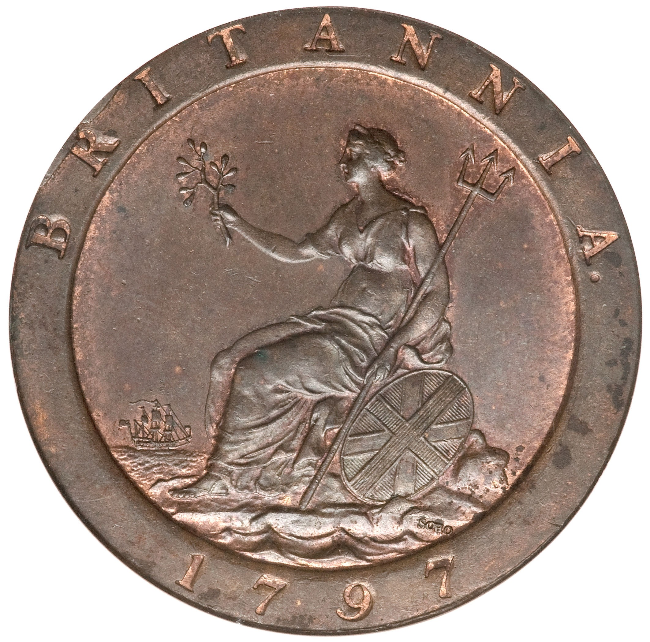 British 1 Penny (Cartwheel)