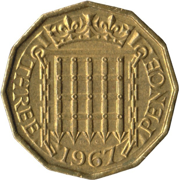 British Threepence