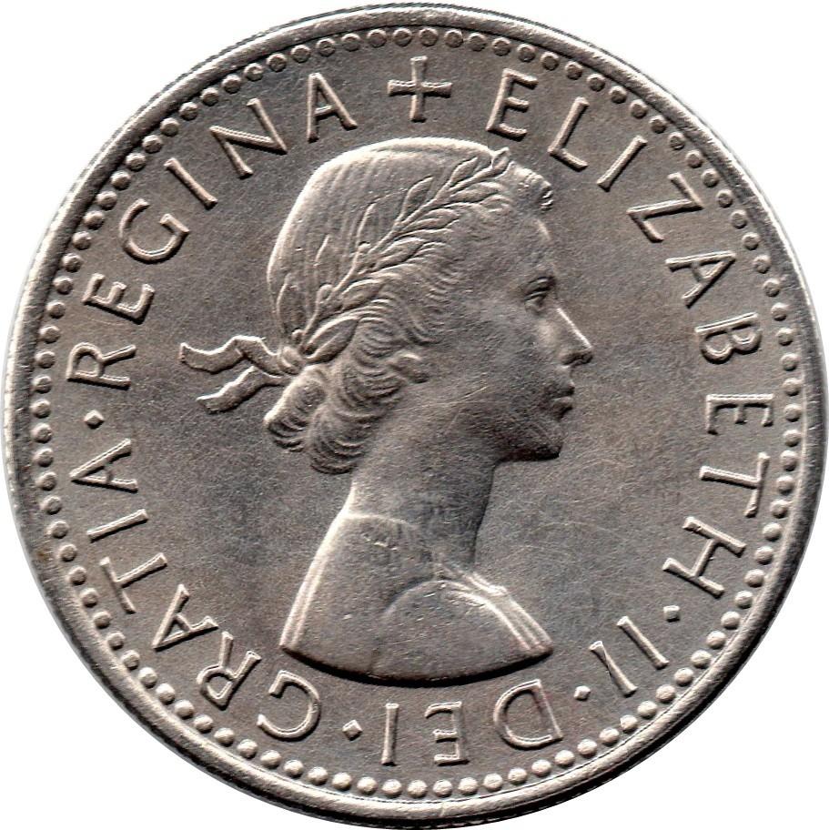 British Sixpence