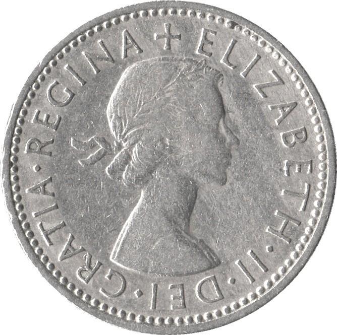 British 1 Shilling