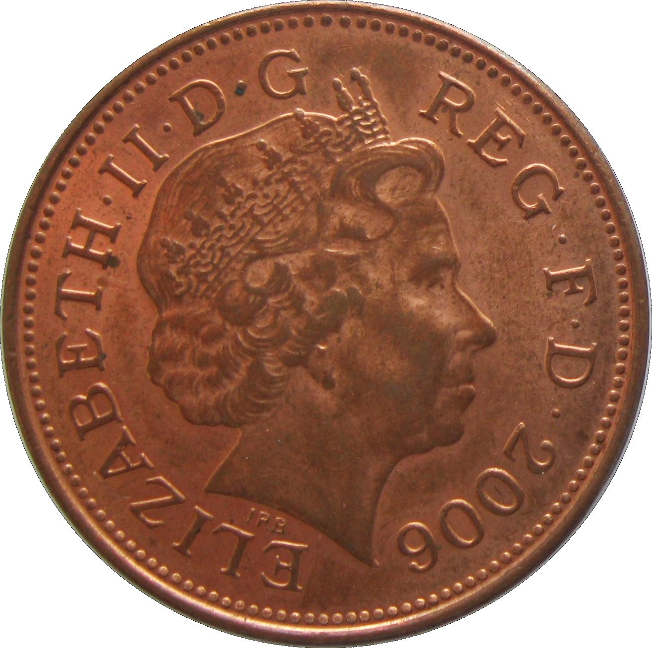 British 2 Pence
