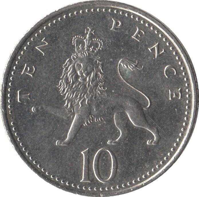 British 10 Pence