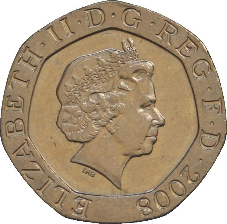British 20 Pence