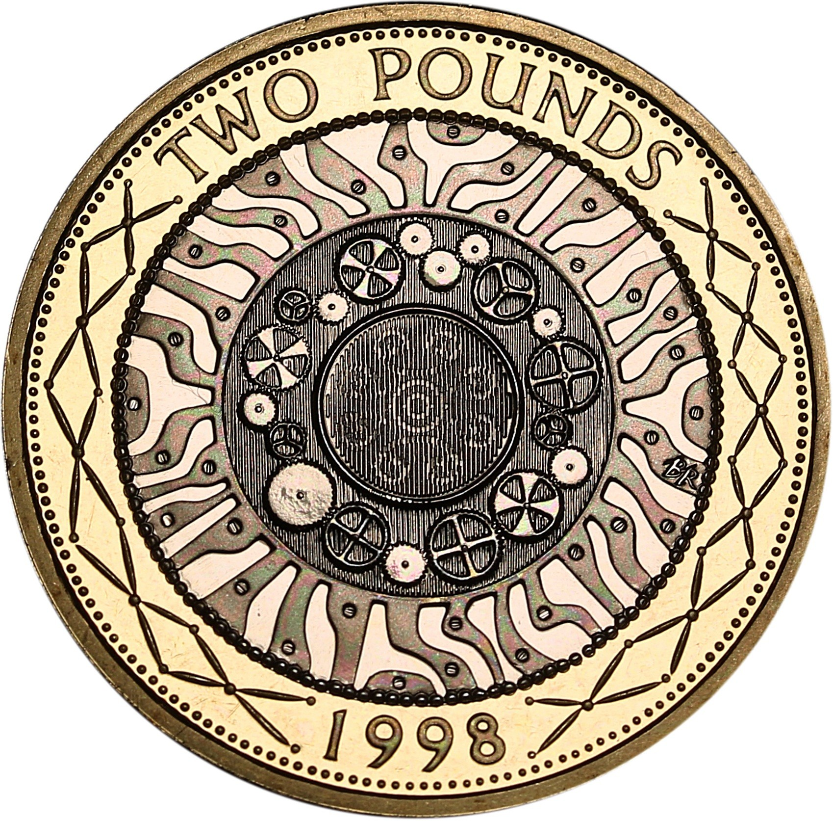British 2 Pounds