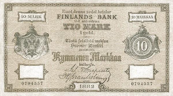 Finland 100 Markkaa (1882-1884)