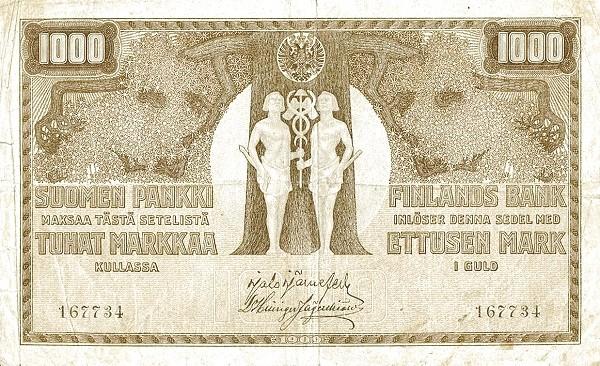 Finland 1000 Markkaa (1909)