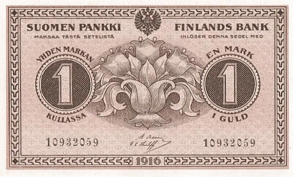 Finland 1 Markka (1916)