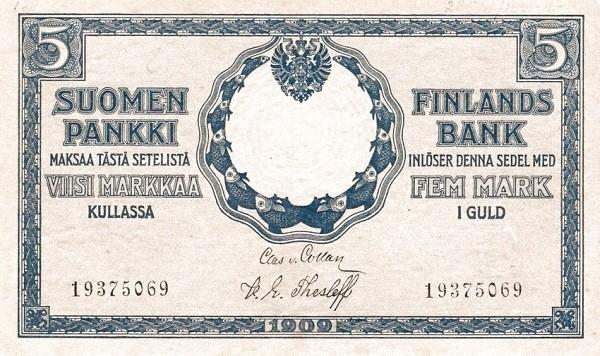 Finland 5 Markkaa (1917)