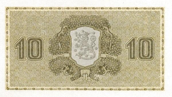 Finland 10 Markkaa (1922 Litt. B)