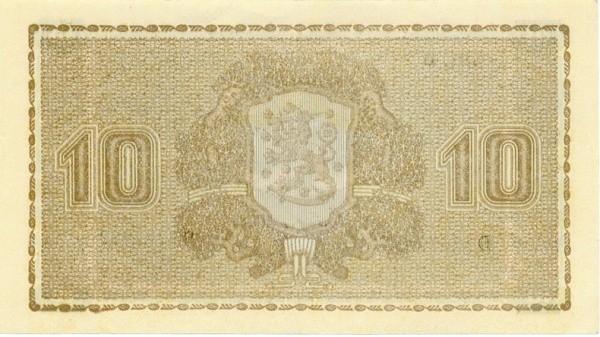 Finland 10 Markkaa (1939-1941)