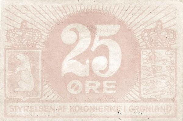Greenland 25 Øre (1913)