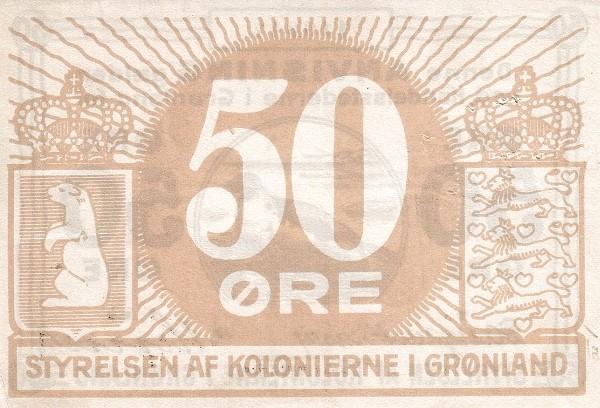 Greenland 50 Øre (1913)