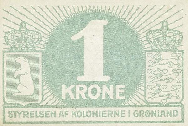 Greenland 1 Krone (1913)