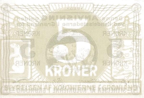 Greenland 5 Kroner (1913)