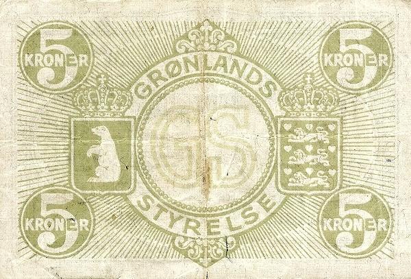 Greenland 5 Kroner (1945)