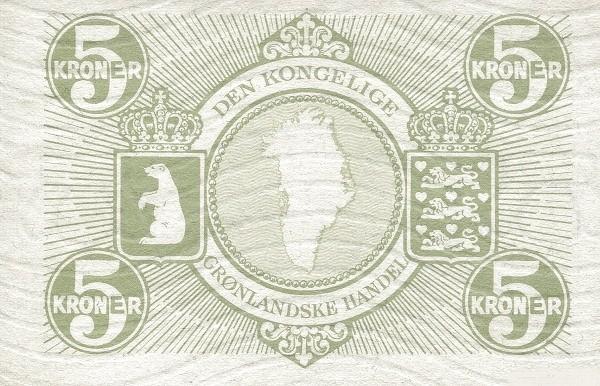 Greenland 5 Kroner (1953-1967)