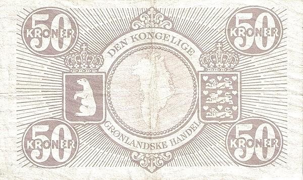 Greenland 50 Kroner (1953-1967)