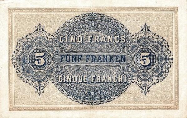 Switzerland 5 Franken (1914)