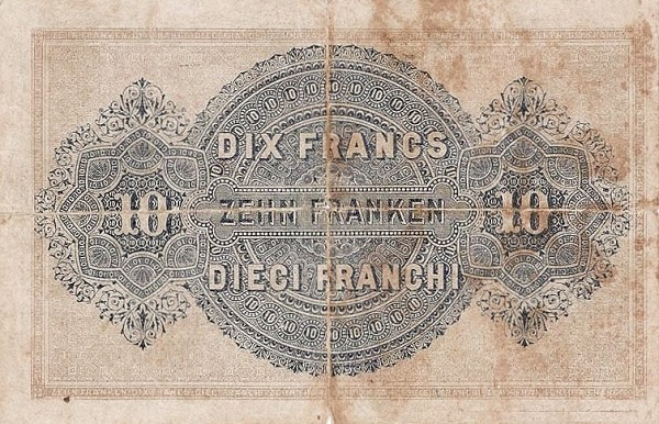 Switzerland 10 Francs (1914)