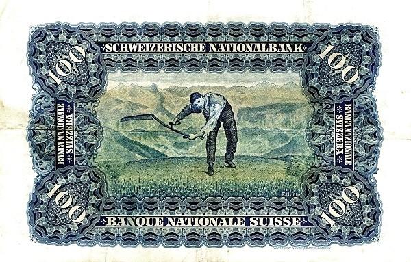 Switzerland 100 Franken (1923-1955)