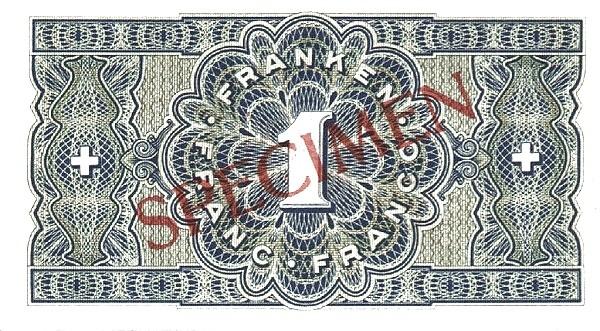 Switzerland 1 Franken (1938)