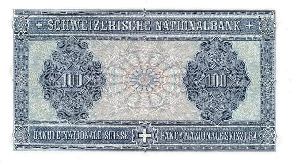 Switzerland 100 Franken (1941-1950)
