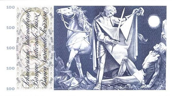Switzerland 100 Franken (1954-1977)