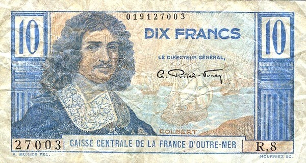 Saint Pierre & Miquelon 10 Francs (1947)
