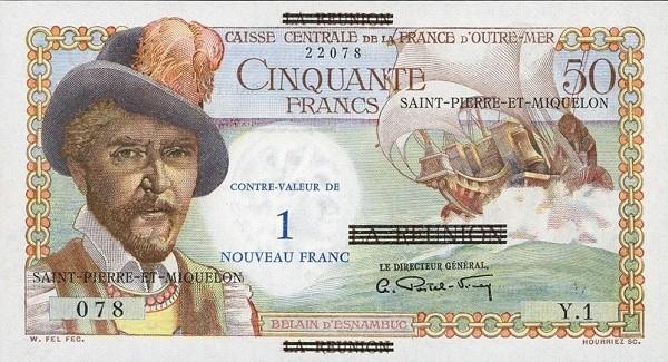 Saint Pierre & Miquelon 1 Nouveau Franc (1960)