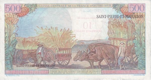 Saint Pierre & Miquelon 10 Nouveaux Francs (1961-1964)