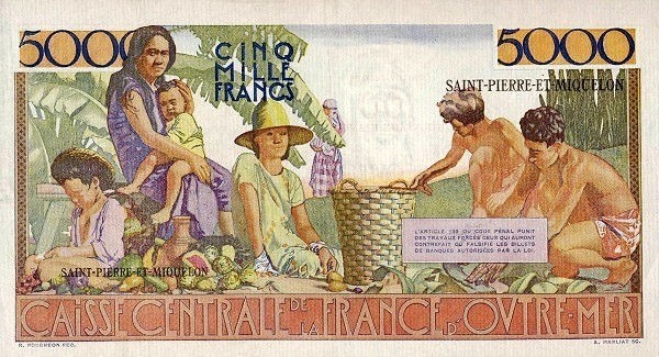 Saint Pierre & Miquelon 100 Nouveaux Francs (1961-1964)