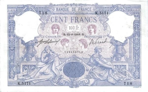 France 100 Francs (1888-1937)