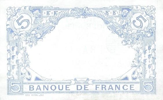France 5 Francs (1909-1923)