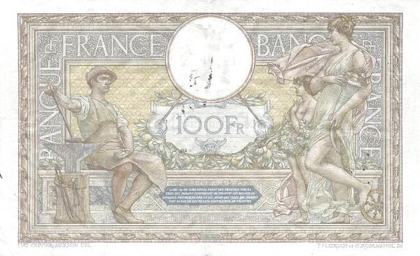 France 100 Francs (1909-1923)