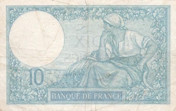 France 10 Francs (1916-1937)