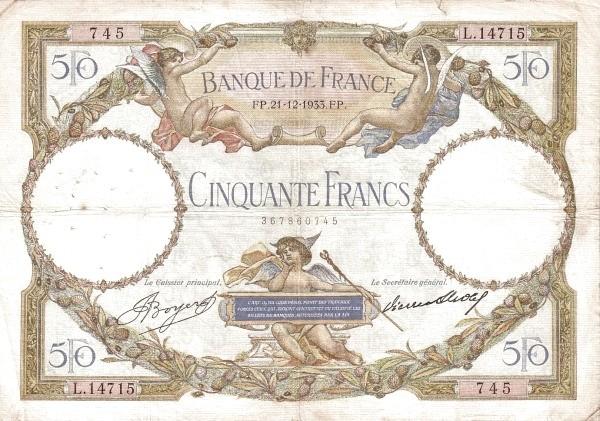 France 50 Francs (1930-1934)
