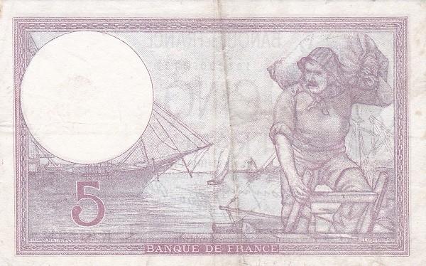 France 5 Francs (1937-1942)