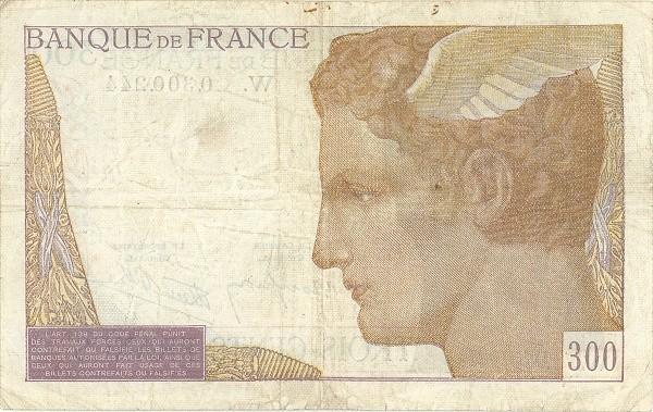 France 300 Francs (1937-1942)