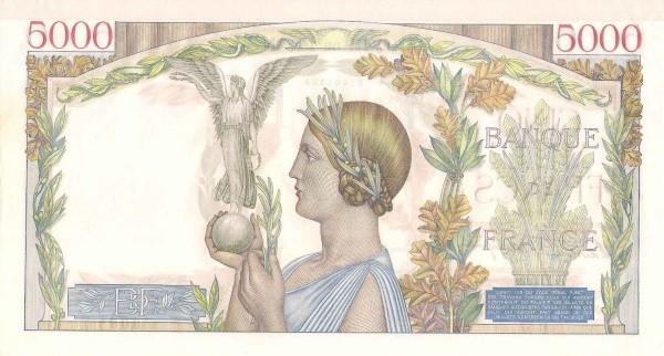 France 5000 Francs (1937-1942)