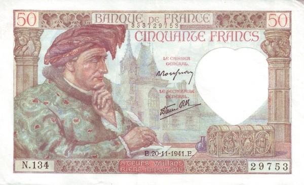 France 50 Francs (1939-1945)