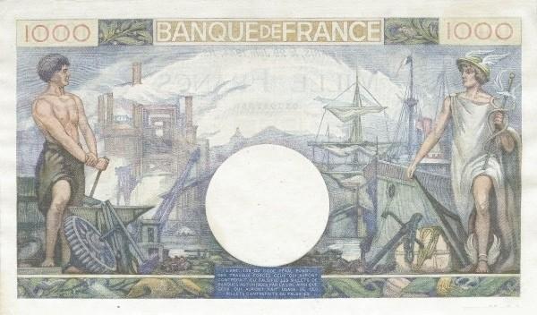 France 1000 Francs (1939-1945)