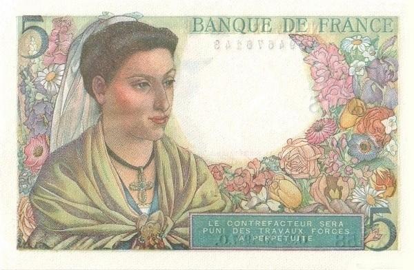 France 5 Francs (1941-1950)