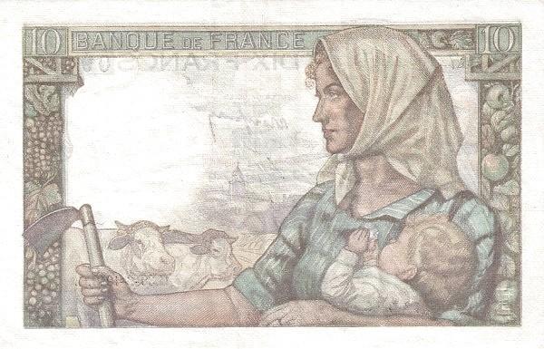 France 10 Francs (1941-1950)