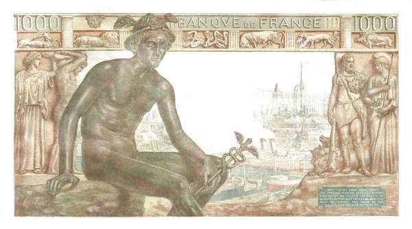 France 1000 Francs (1941-1950)