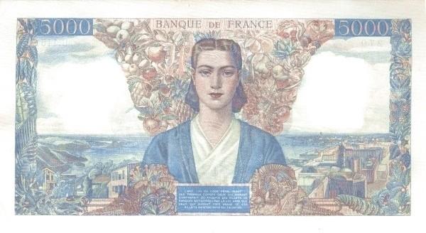 France 5000 Francs (1941-1950)