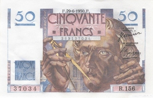France 50 Francs (1945-1957)