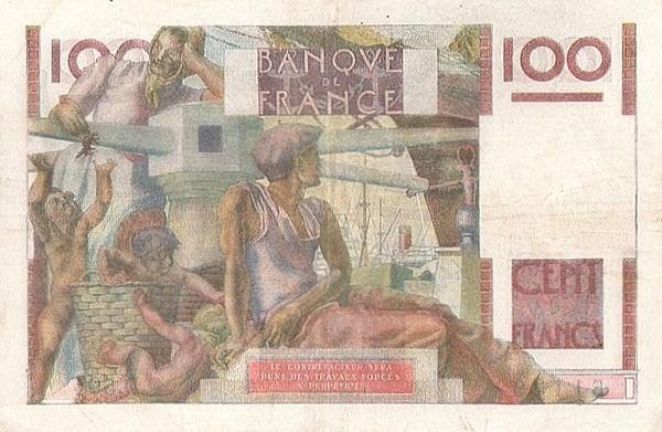 France 100 Francs (1945-1957)