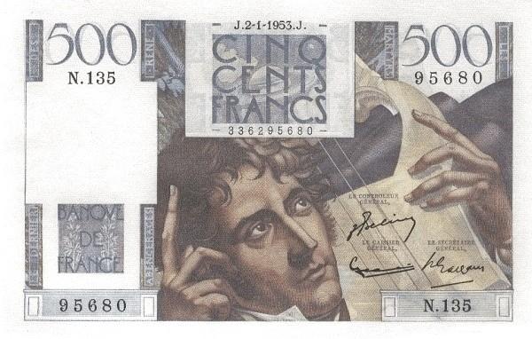 France 500 Francs (1945-1957)